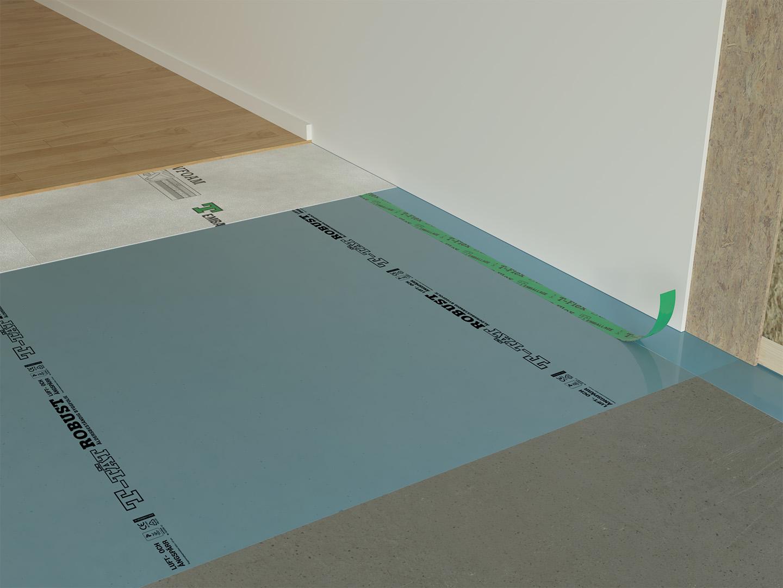 Ångspärr i golv